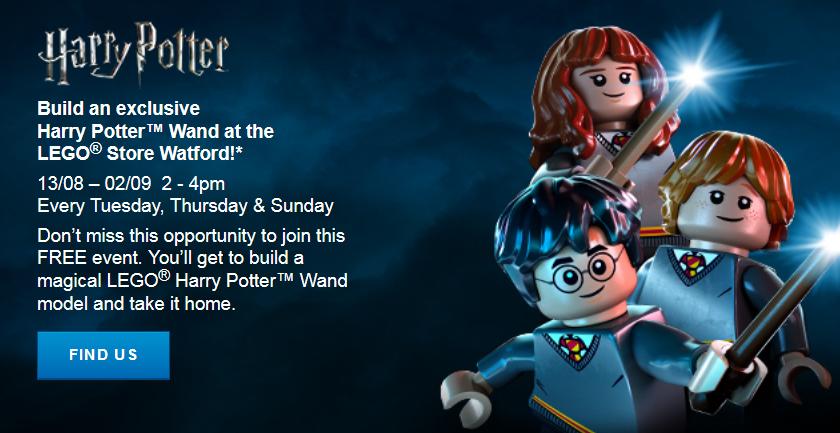 LEGO Harry Potter Wand Make Take