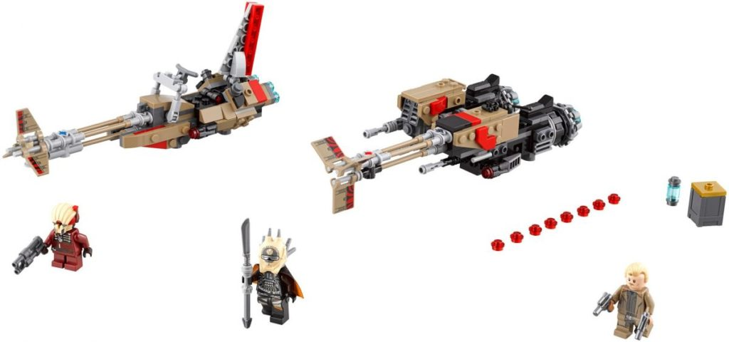LEGO Star Wars 75215 Cloud Rider Swoop Bike