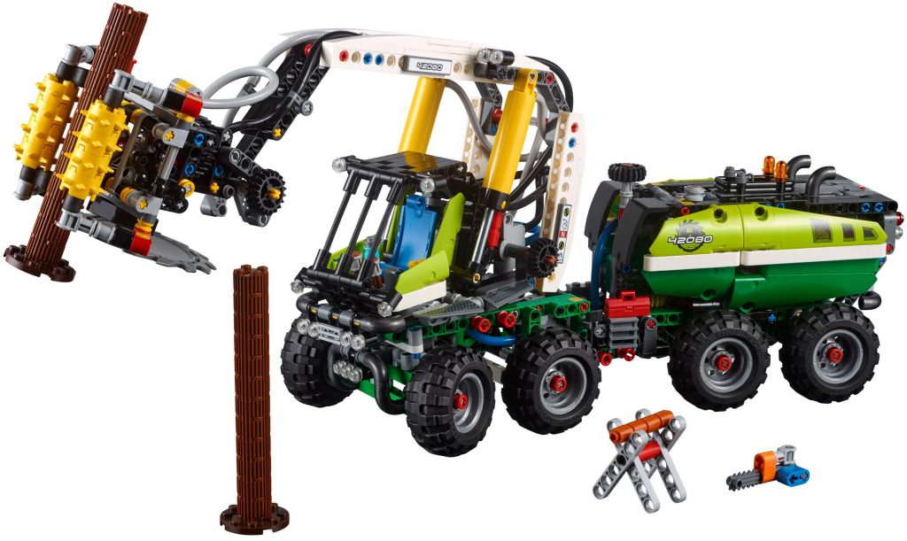 LEGO Technic 42080 Forest Harvester 1024x611