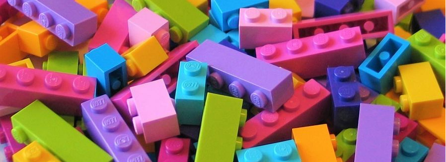 LEGO Pastel Colour Bricks Featured
