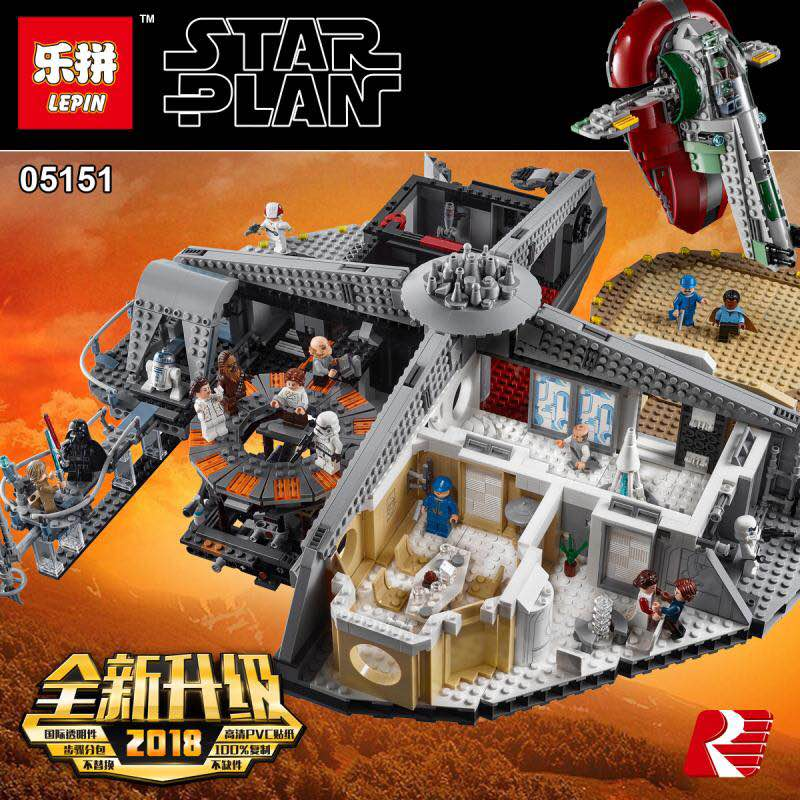 Lepin Cloud City Fake Knock Off