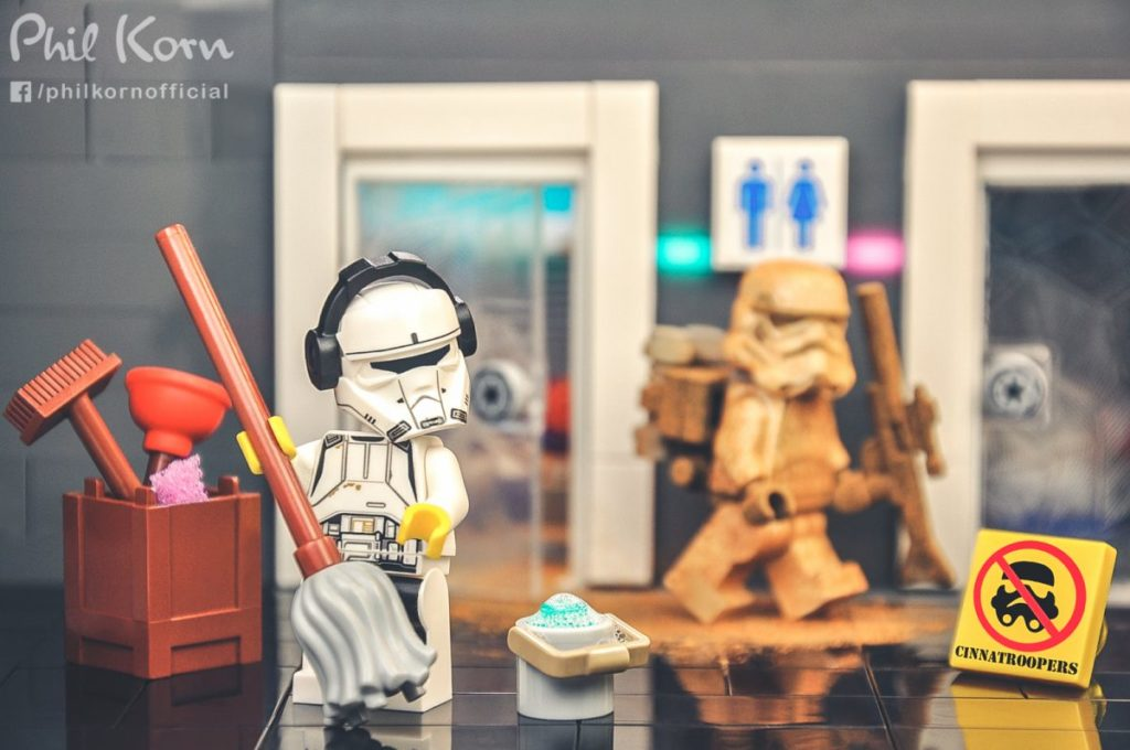 Brick Pic Cleaning Trooper