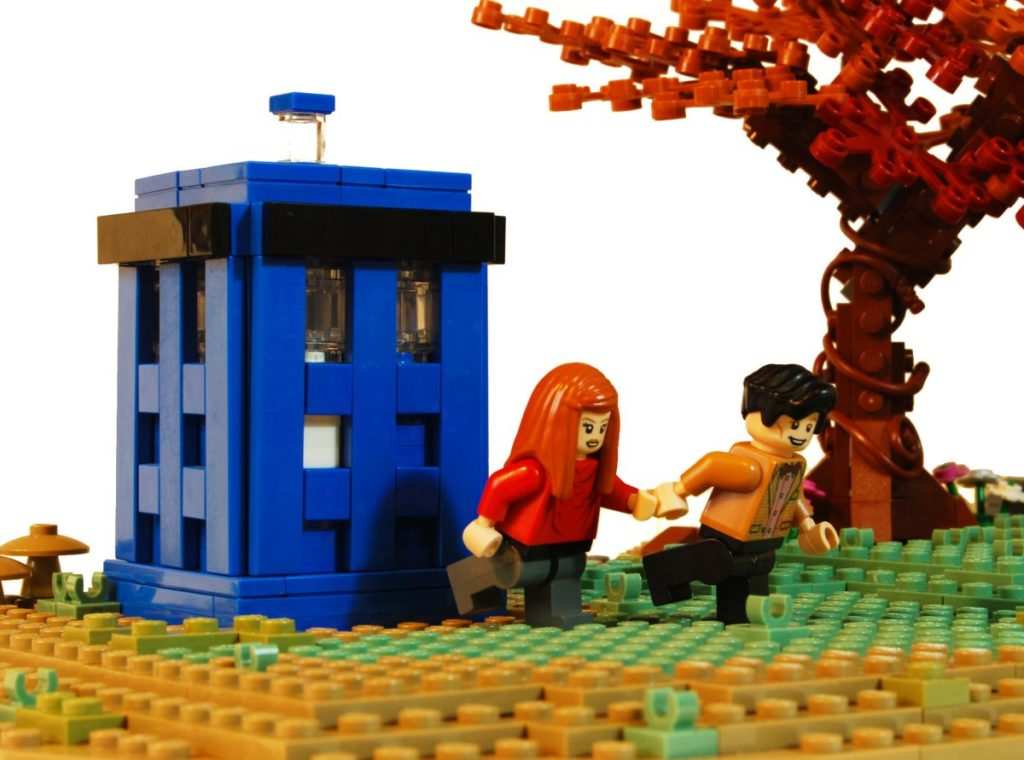 Brick Pic Doctor Who Pond