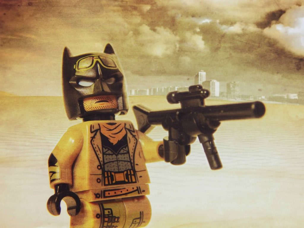 Brick Pic Knightmare Batman