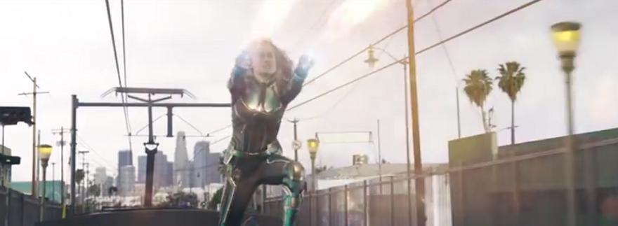 Captain Marvel Trailer Featured
