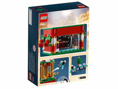 LEGO 40293 Christmas Carousel 2