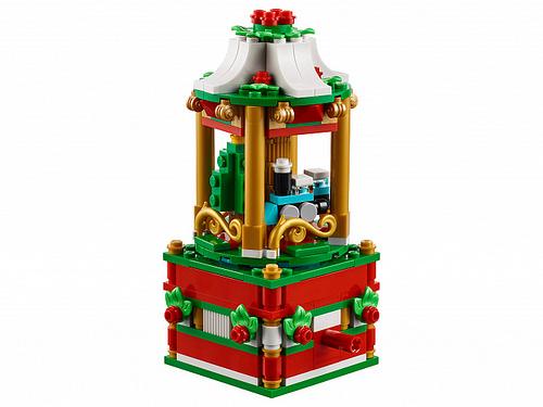 LEGO 40293 Christmas Carousel 3
