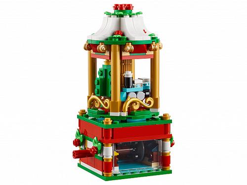 LEGO 40293 Christmas Carousel 4