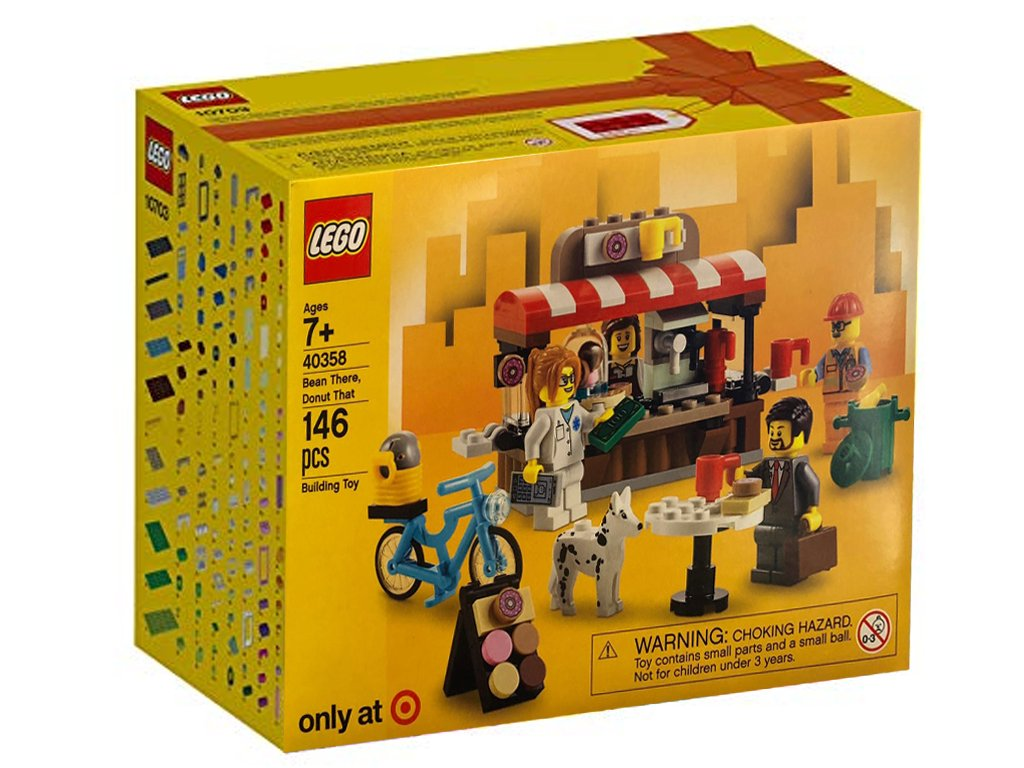 LEGO 40358 Bean There Donut That 2