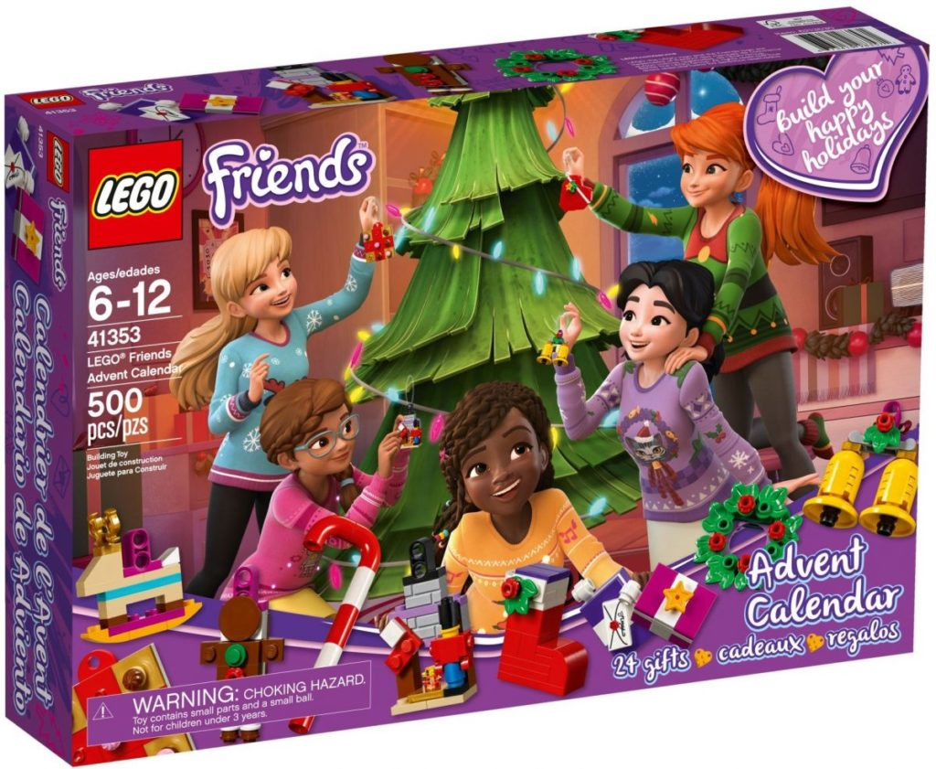 LEGO Star Wars, City and Friends advent calendars cheap in