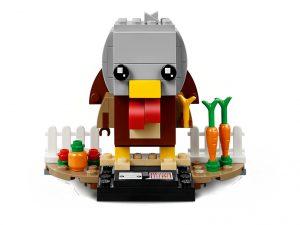 LEGO BrickHeadz 40273 Thanksgiving Turkey 1 300x225