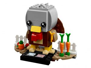 LEGO BrickHeadz 40273 Thanksgiving Turkey 2 300x225
