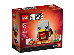 LEGO BrickHeadz 40273 Thanksgiving Turkey 4 300x225