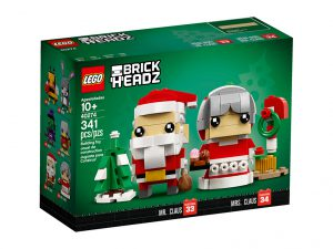 LEGO BrickHeadz 40274 Mr Mrs Claus 1 300x225