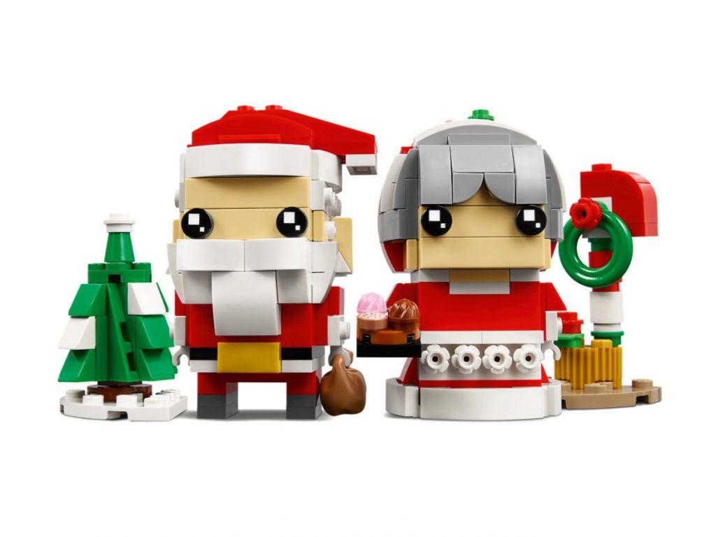 LEGO BrickHeadz 40274 Mr Mrs Claus 5