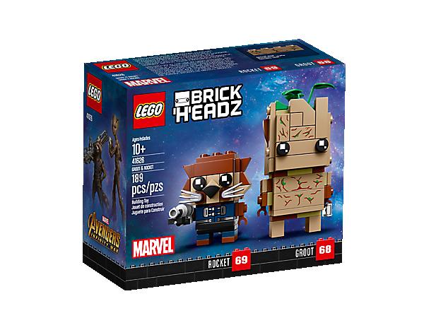 LEGO BrickHeadz 41626 Groot Rocket