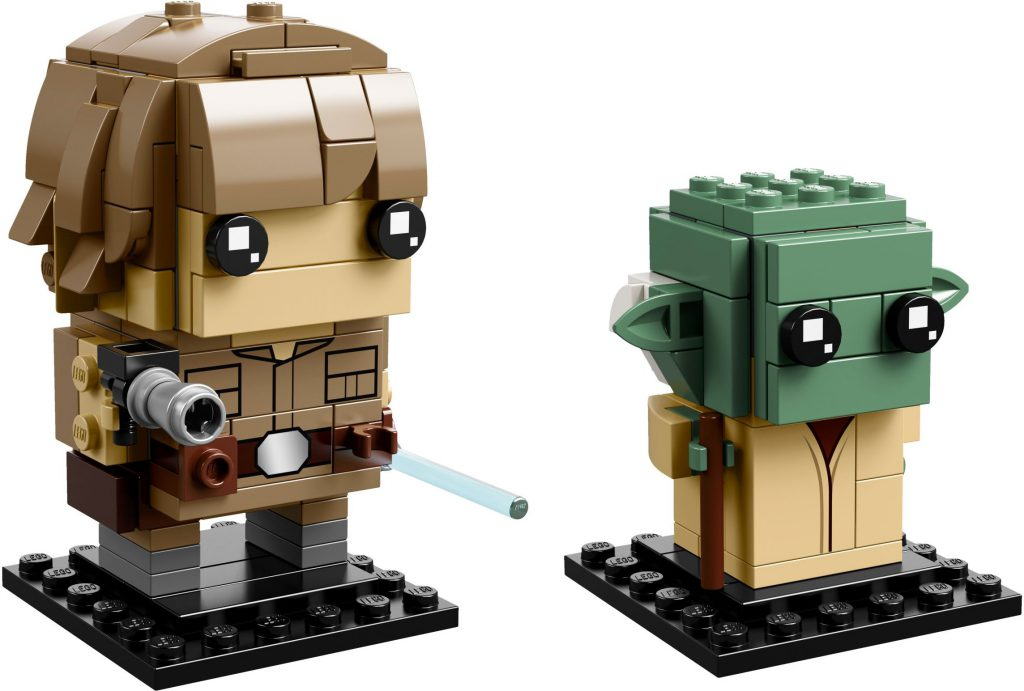 LEGO BrickHeadz 41627 Luke Yoda 1024x691