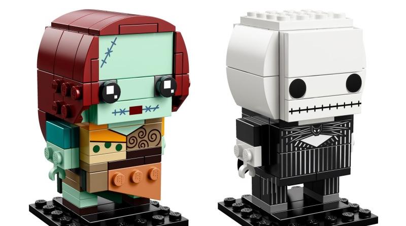 LEGO BrickHeadz 41630 Jack Skellington Sally featured 800 445