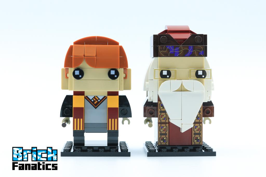 LEGO BrickHeadz Harry Potter 41621 Ron Weasley Albus Dumbledore 10