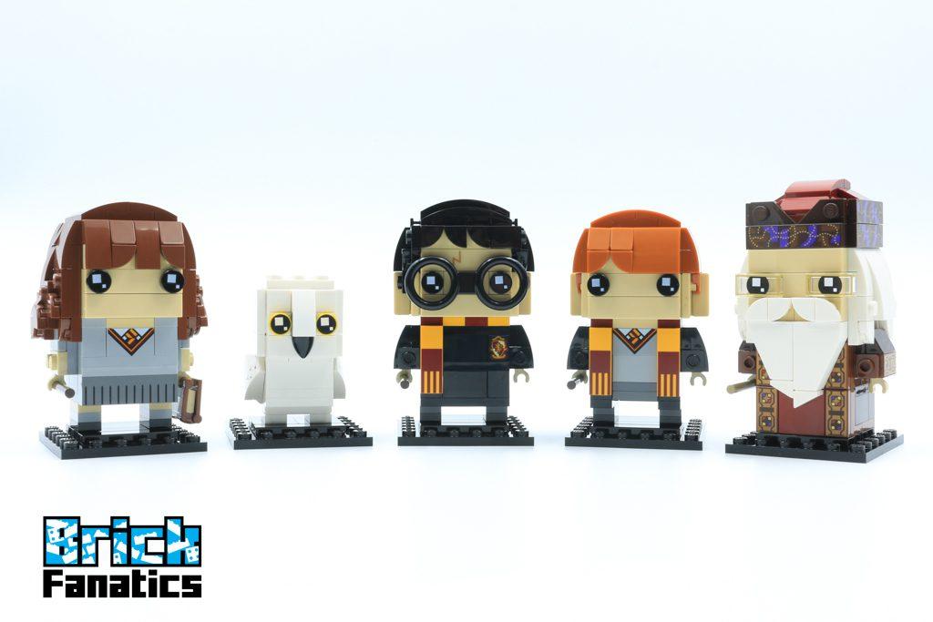 LEGO BrickHeadz Harry Potter 41621 Ron Weasley Albus Dumbledore 9 1024x683