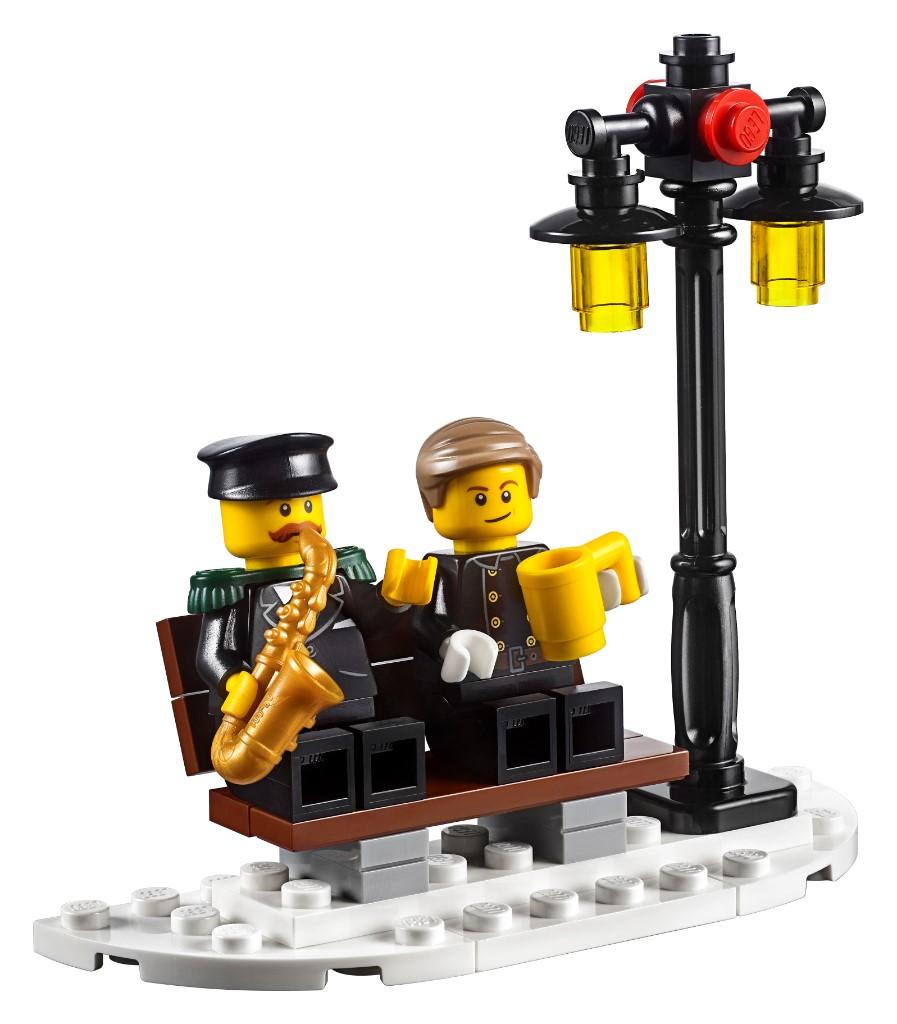 LEGO Creator Expert 10263 WInter Village Fire Station 12
