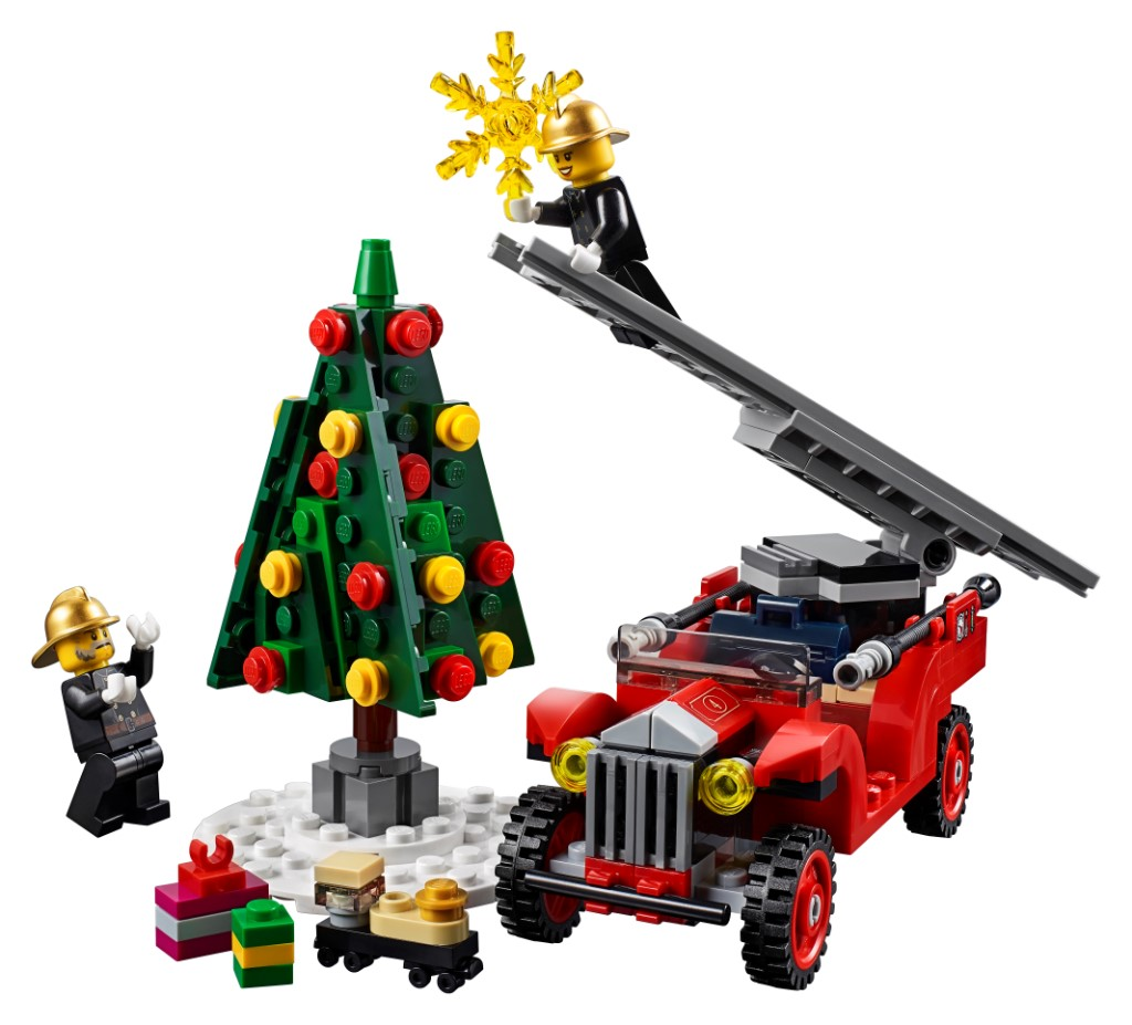LEGO Creator Expert 10263 WInter Village Fire Station 15