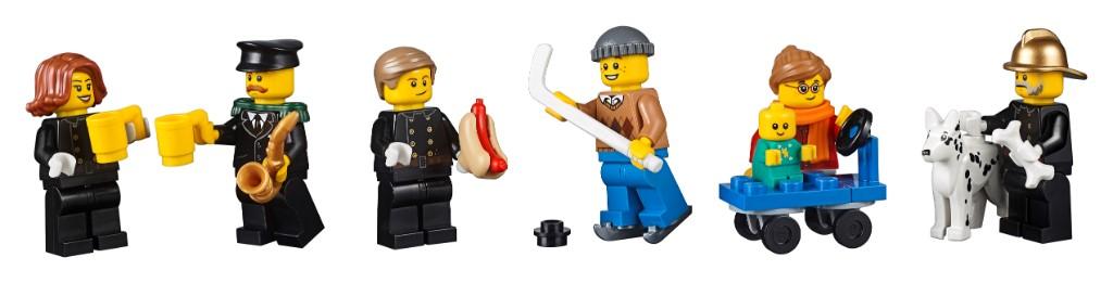 LEGO Creator Expert 10263 WInter Village Fire Station 16