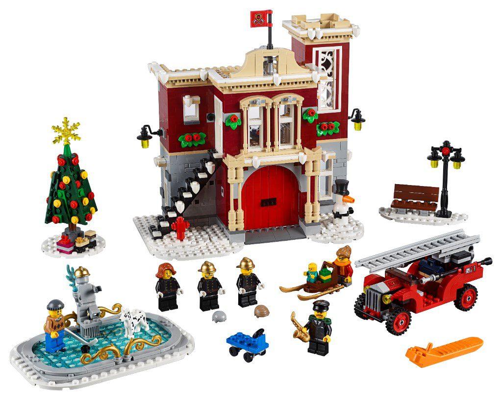 LEGO Creator Expert 10263 WInter Village Fire Station 17 1 1024x817