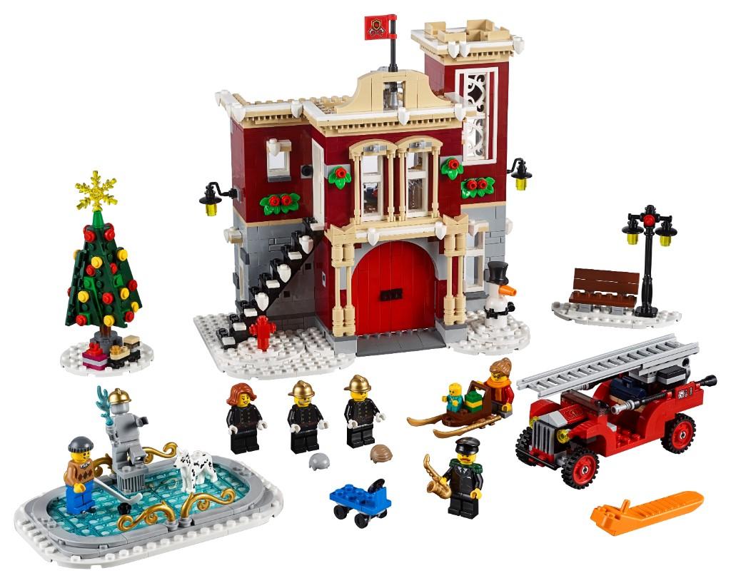 LEGO Creator Expert 10263 WInter Village Fire Station 17