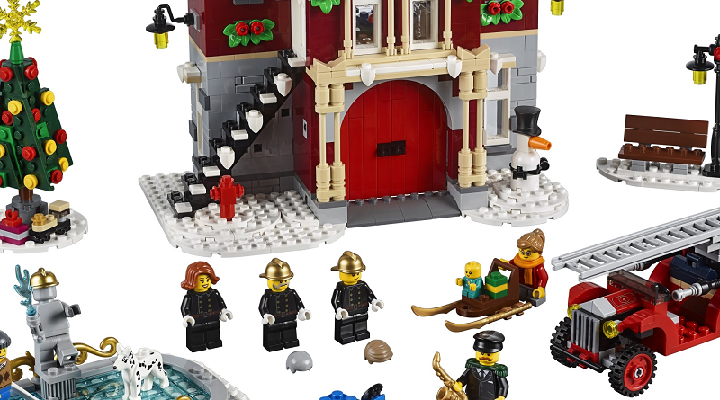 LEGO Creator Expert 10263 Winter VIllage Fire Station Featured 800 445