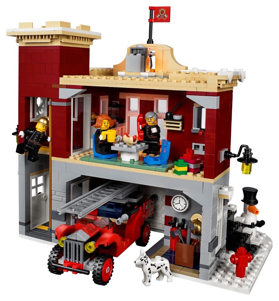 LEGO Creator Expert 10263 Winter Village Fire Station 1