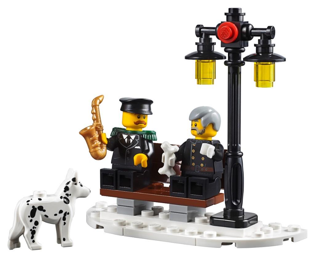 LEGO Creator Expert 10263 Winter Village Fire Station 6