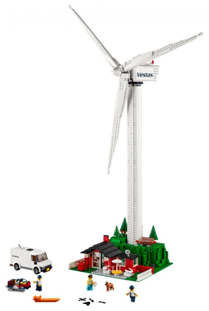 LEGO Creator Expert 10268 VESPA Wind Turbine 24