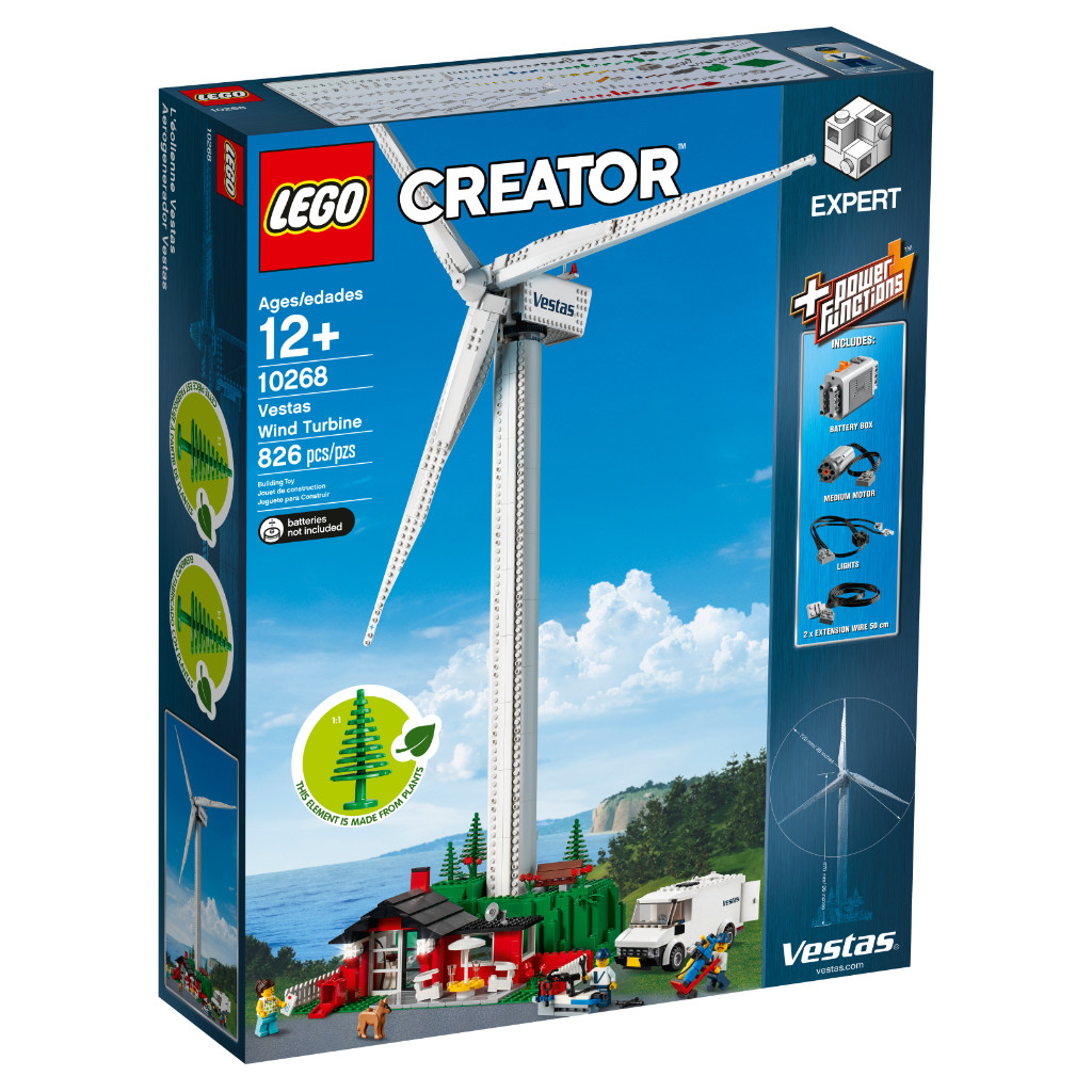 LEGO Creator Expert 10268 VESPA Wind Turbine Box 2