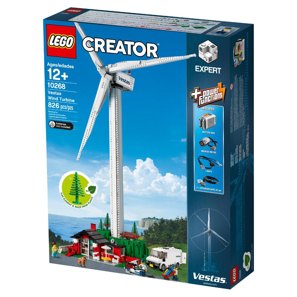 LEGO Creator Expert 10268 VESPA Wind Turbine Box 4