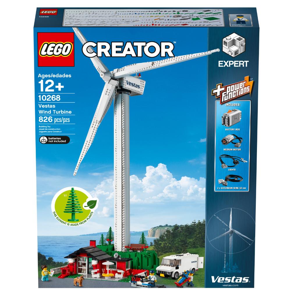 LEGO Creator Expert 10268 VESPA Wind Turbine Box 8