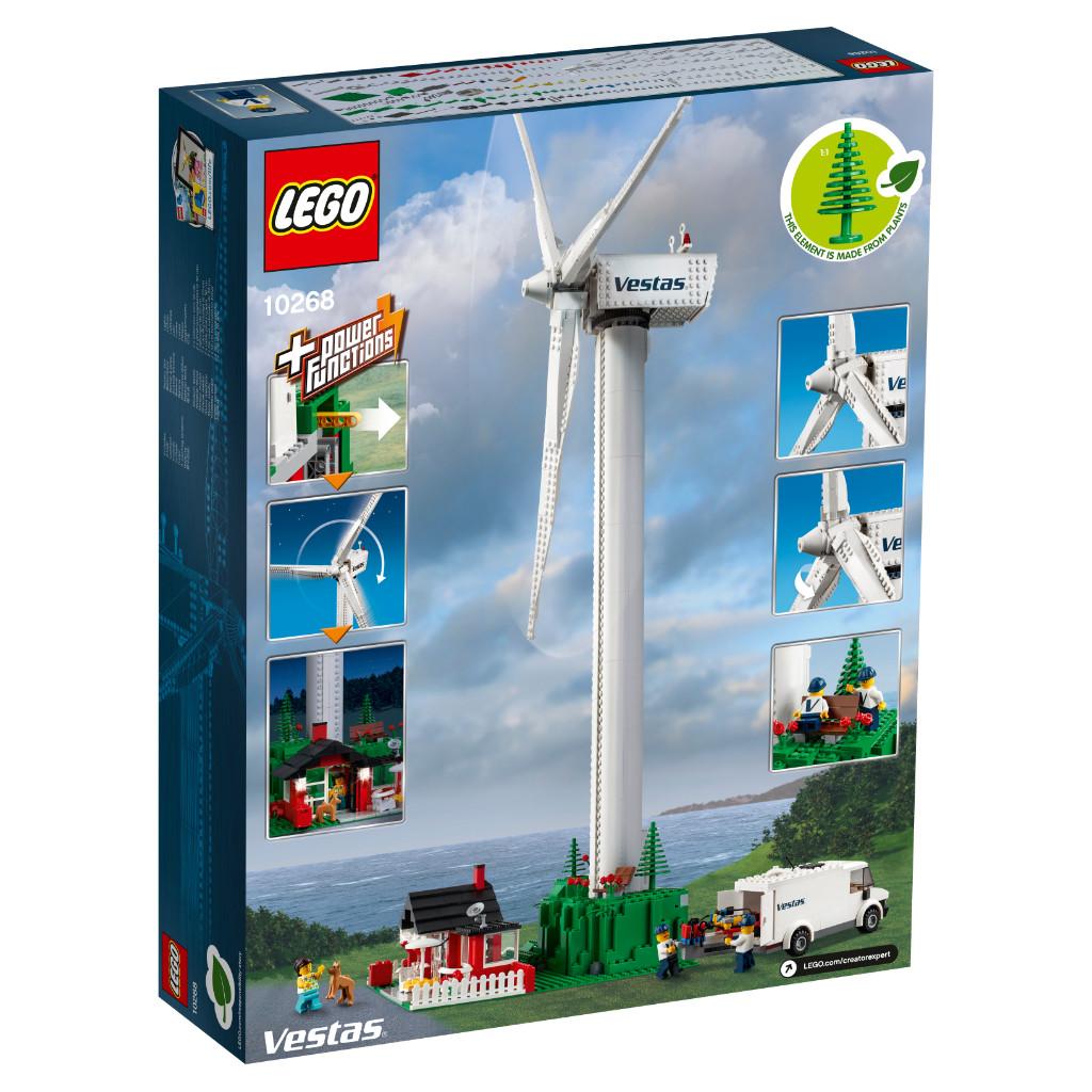 LEGO Creator Expert 10268 VESPA Wind Turbine Box 9