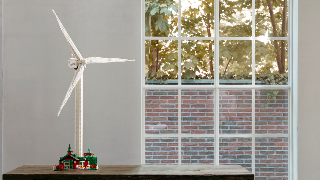LEGO Creator Expert 10268 VESPA Wind Turbine Lf 6