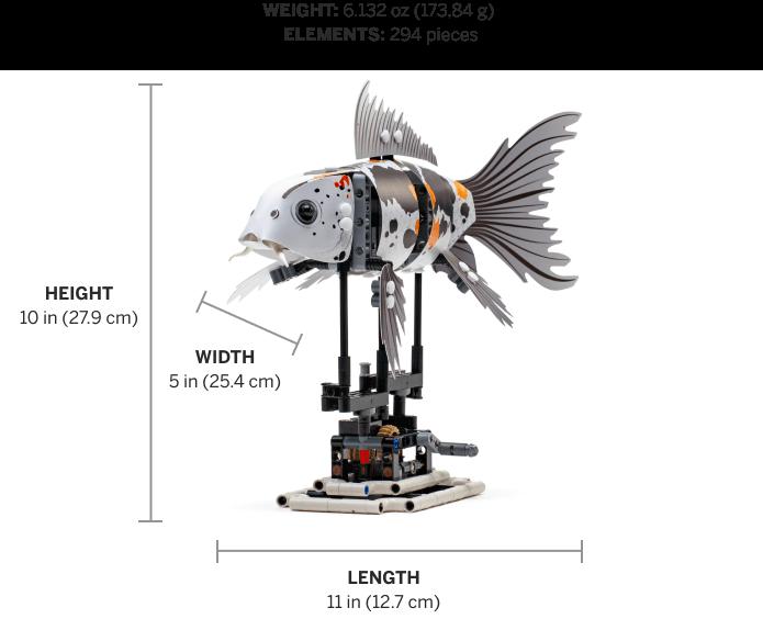 LEGO FORMA 81000 Koi Model 1
