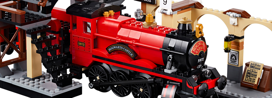 LEGO Harry Potter 75955 Hogwarts Express Build Featured