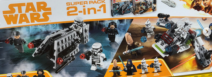 LEGO Star Wars Battle Pack Super Pack Featured