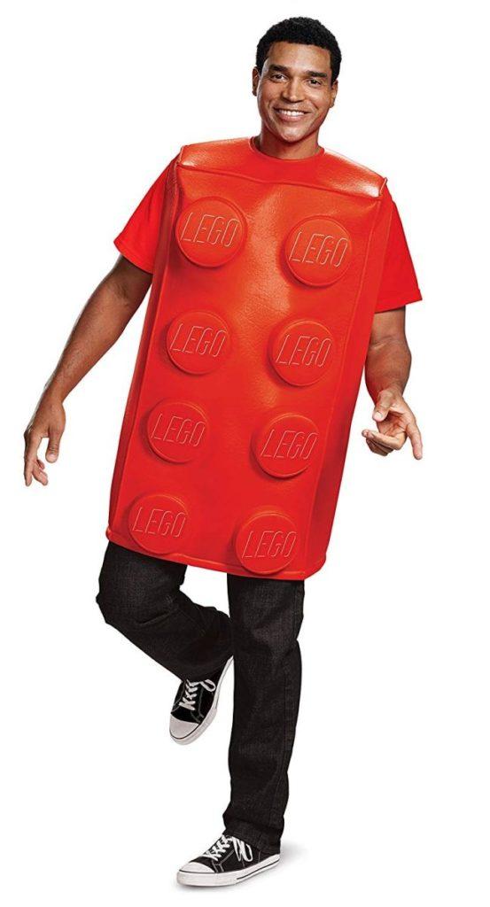 LEGO Costume Red Brick