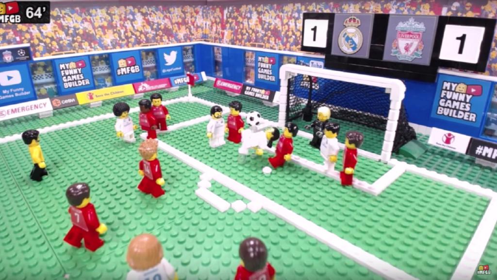 LEGO Champions League stop motion