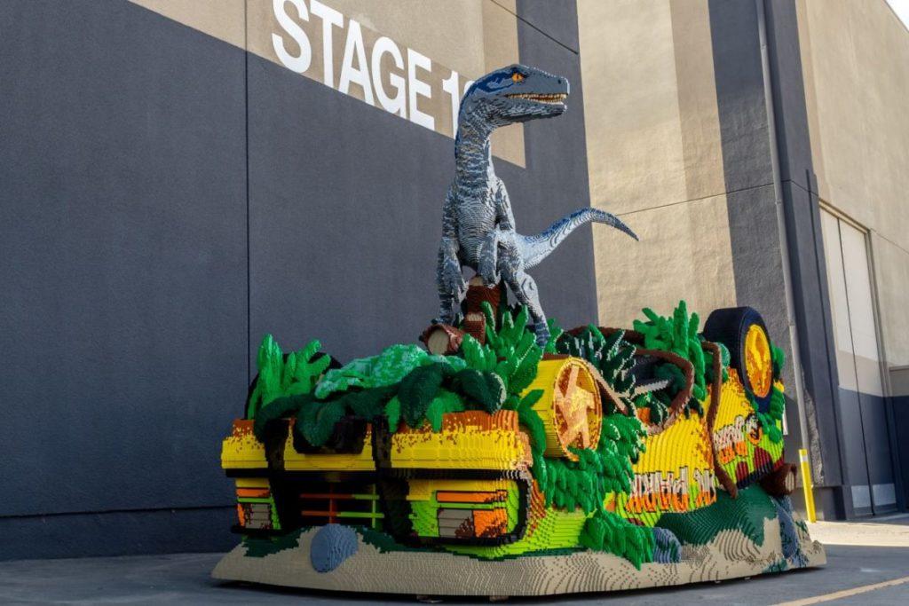 LEGO Jurassic World Blue Stage 18