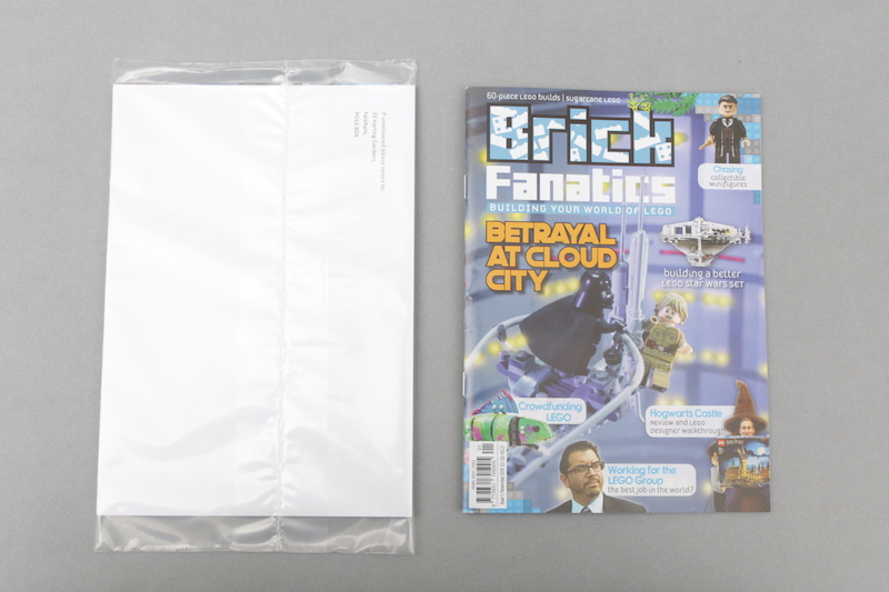 Brick Fanatics Magazine Issue 1 Flickthrough Post