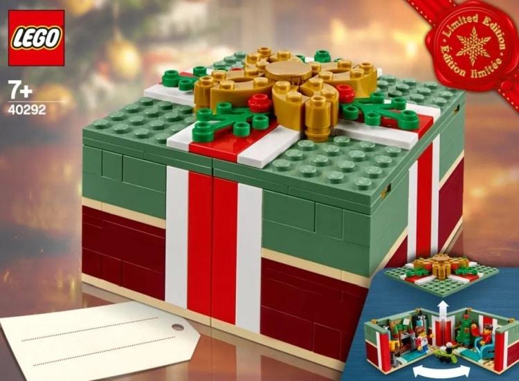 LEGO 40292 Chtistmas Box 1