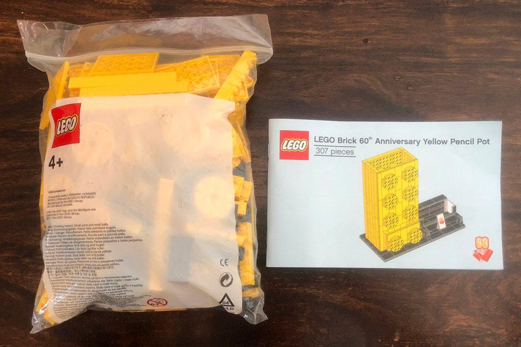 LEGO 60th Anniversary Pencil Holder 1024x683