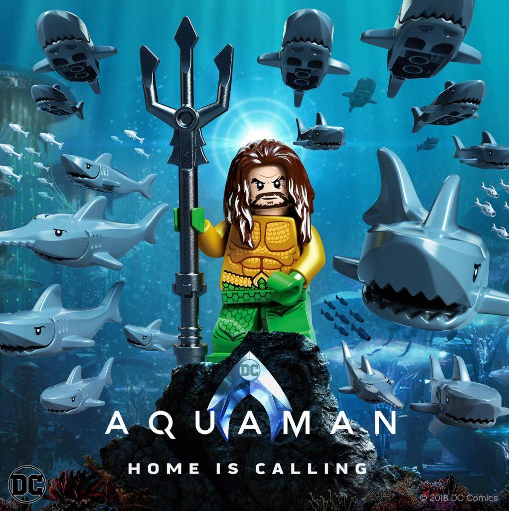 LEGO Aquaman Poster 1021x1024