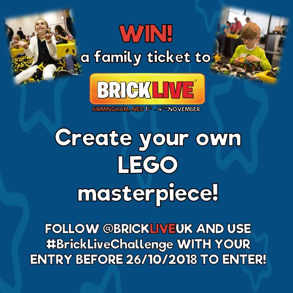 LEGO BRICKLIVE Comp 2018