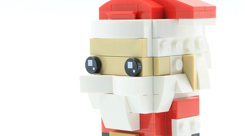 LEGO BrickHeadz 40274 Mr Mrs Claus 9